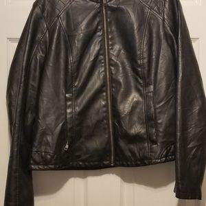 Womens large baccini jacket faux